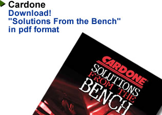 Cardone Solutions From The Bench
